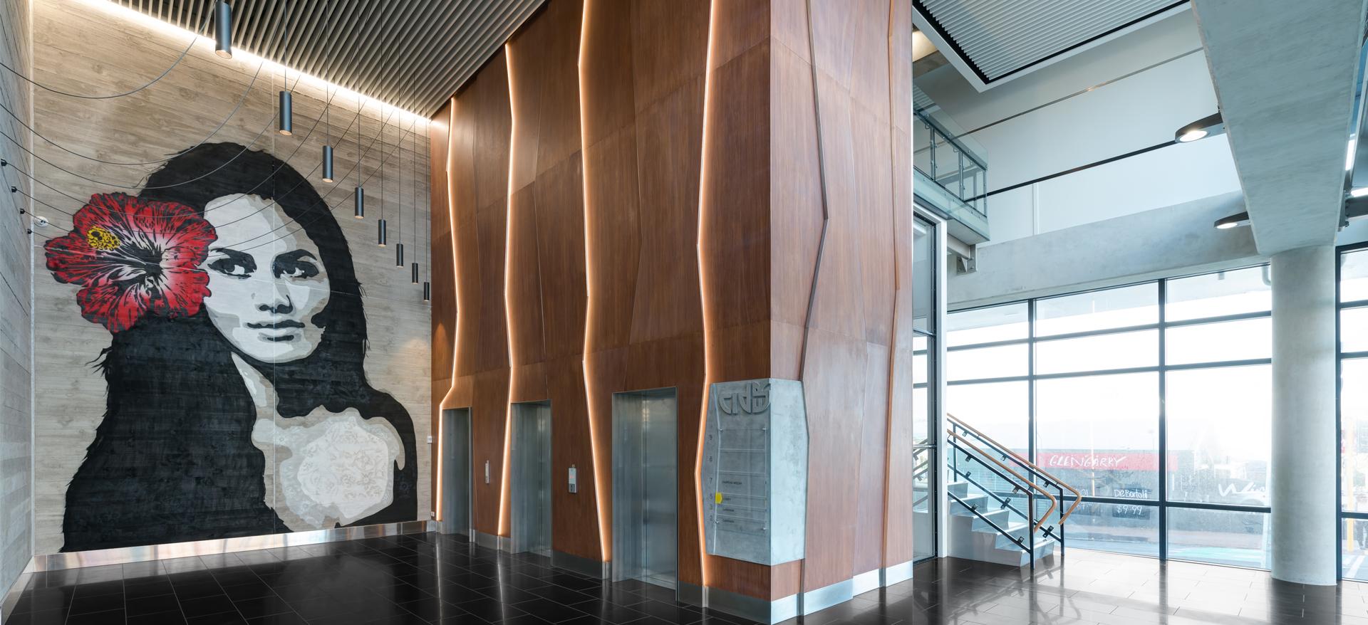 Cider Building Lobby, Auckland