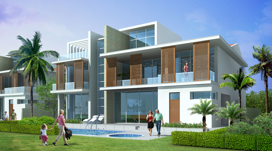 Golf Villa Development, Uttar Pradesh, India