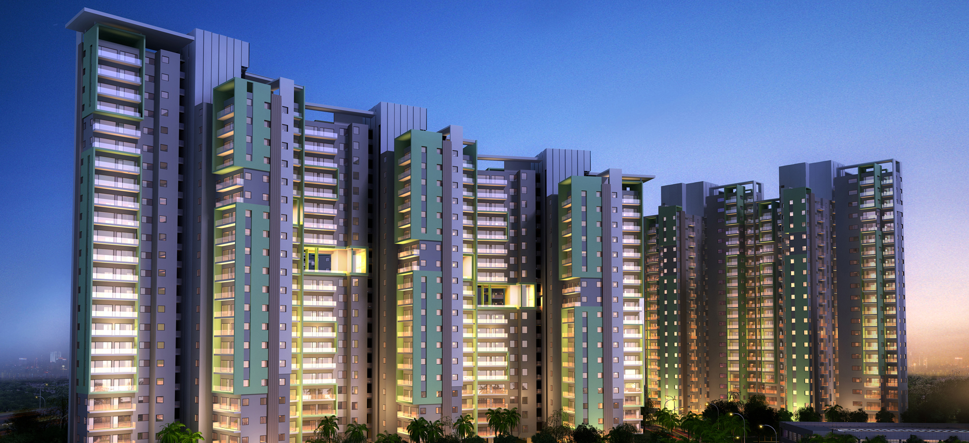 Sector M Group Housing Development, Uttar Pradesh, India