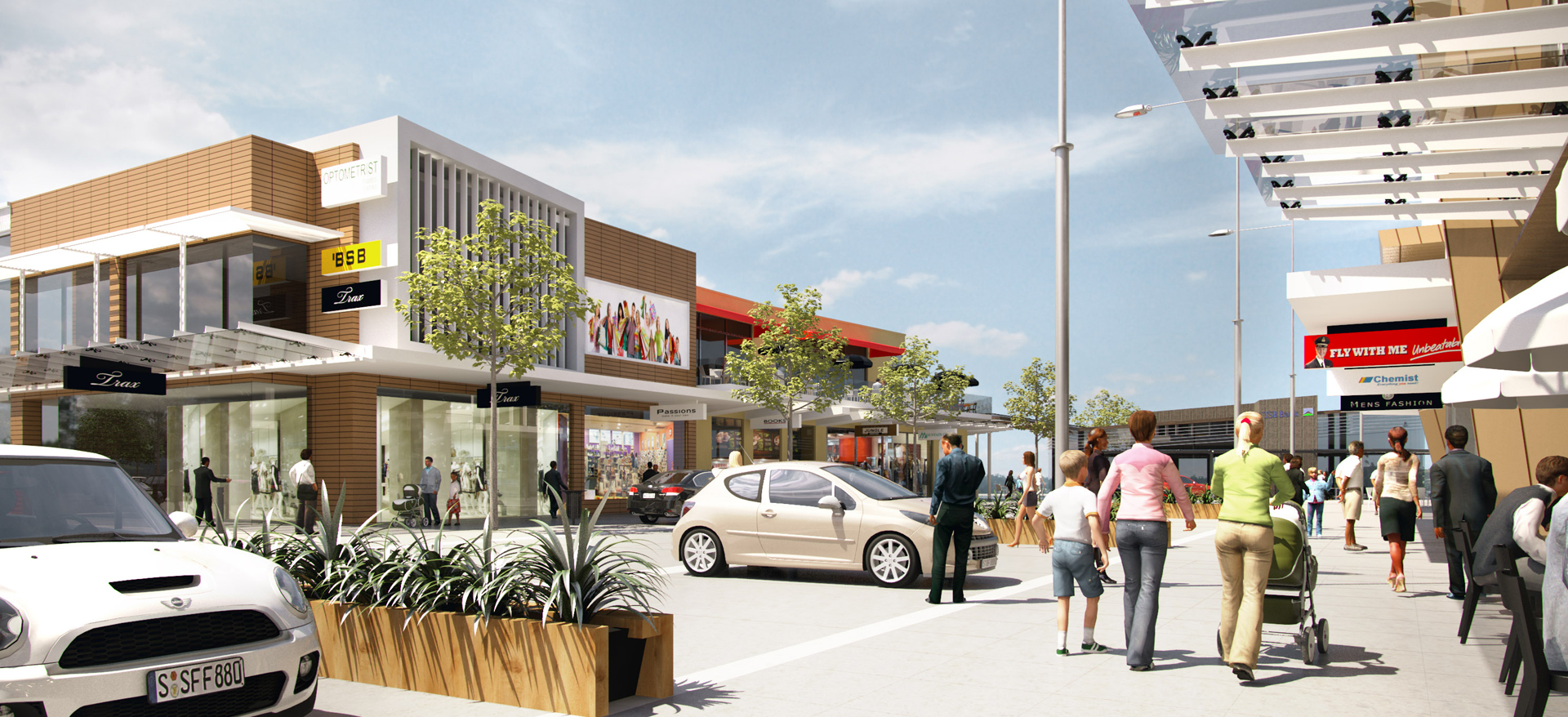 Lucas Lane Retail Precinct, Auckland