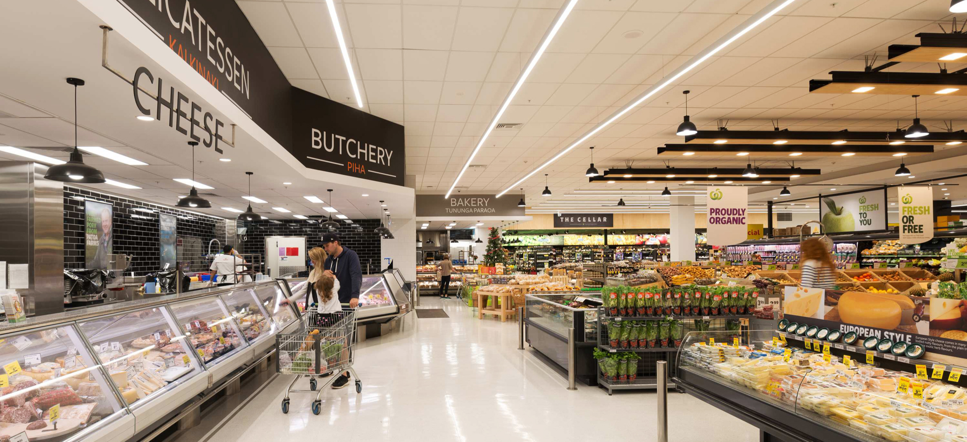 Countdown Supermarket Concept Stores, New Zealand Nationwide