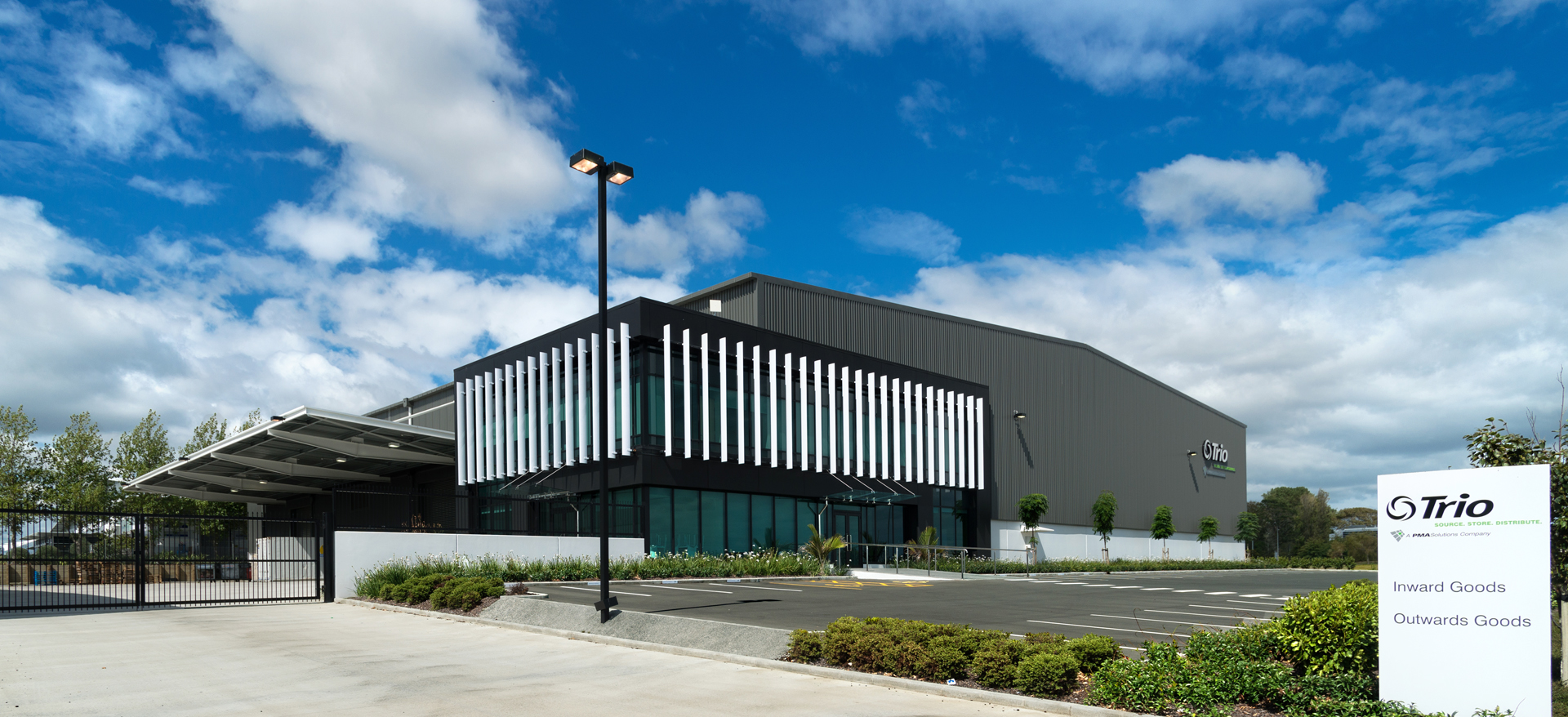 Trio Warehouse and Office, Auckland