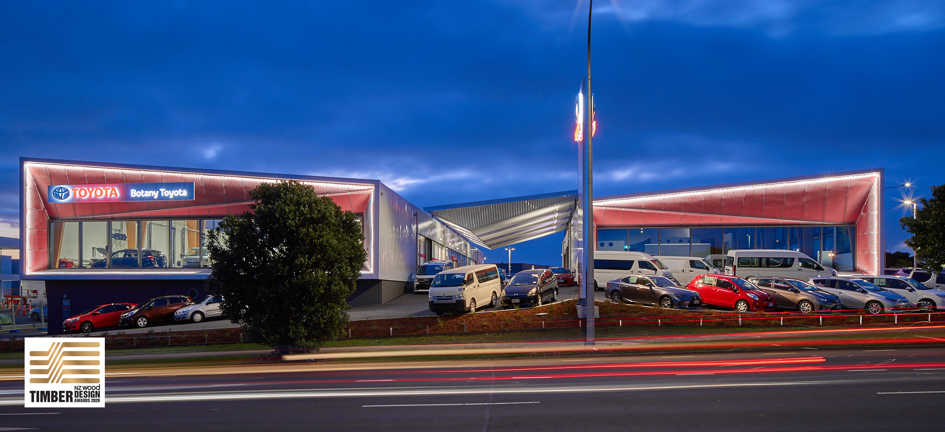 Toyota Showroom and Workshop, Botany