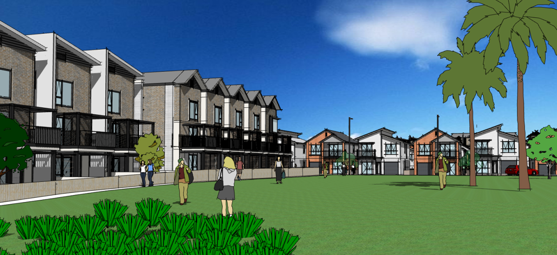 Large Scale Integrated Residential Development, 131A Clarks Road, Scott Point, Auckland
