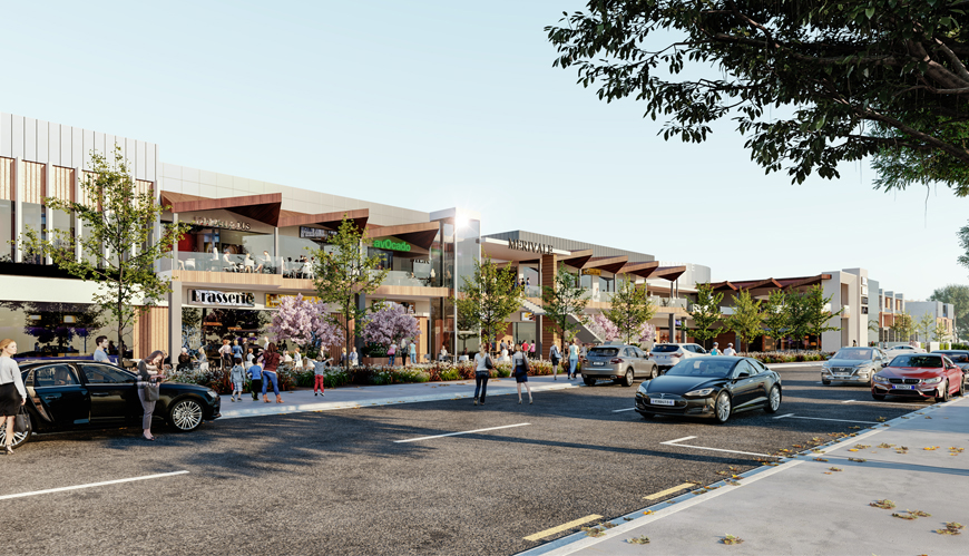 Merivale Mall - Resource Consent