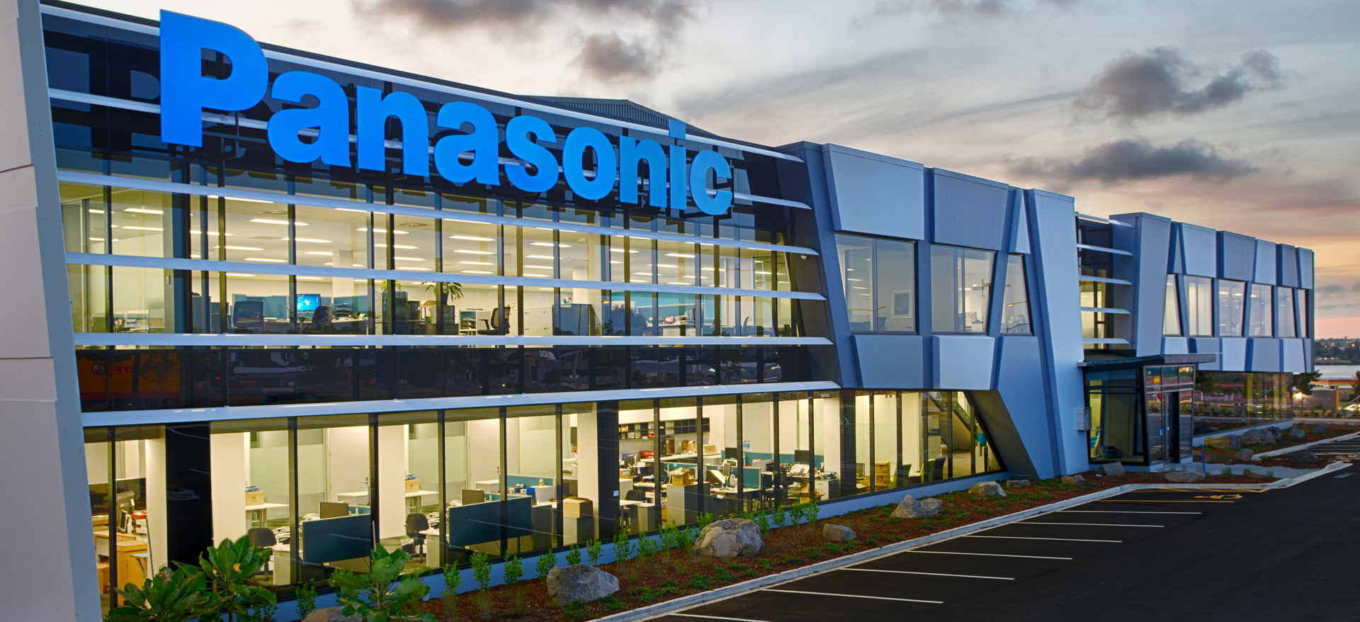 Panasonic Office and Warehouse, Auckland